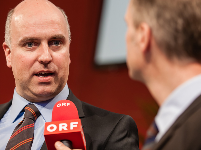Stefan Kreidler im Interview mit ORF
